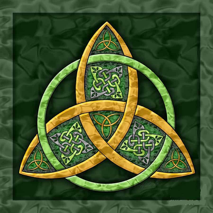 The Triquetra or the Trinity Knot Celtic Symbols