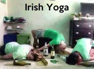Irish Yoga Irish Memes