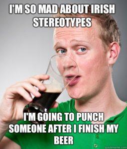 Irish memes Stereotypes