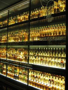 Irish Hot toddy cure whiskey selection