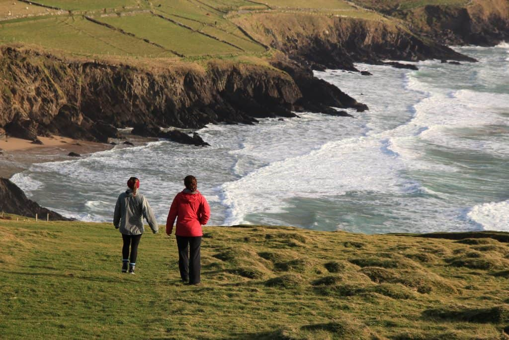 Wild atlantic way at dunmore head