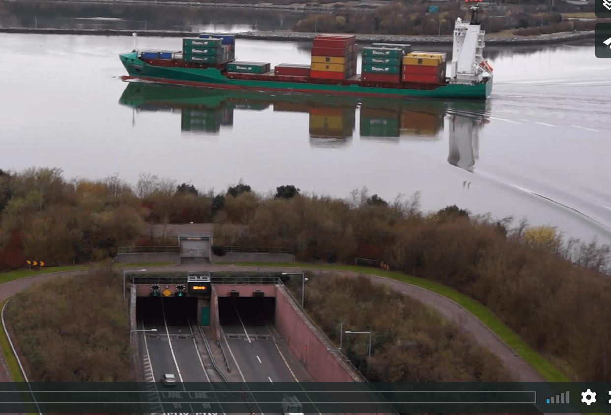 Ariel footage of Cork (1)
