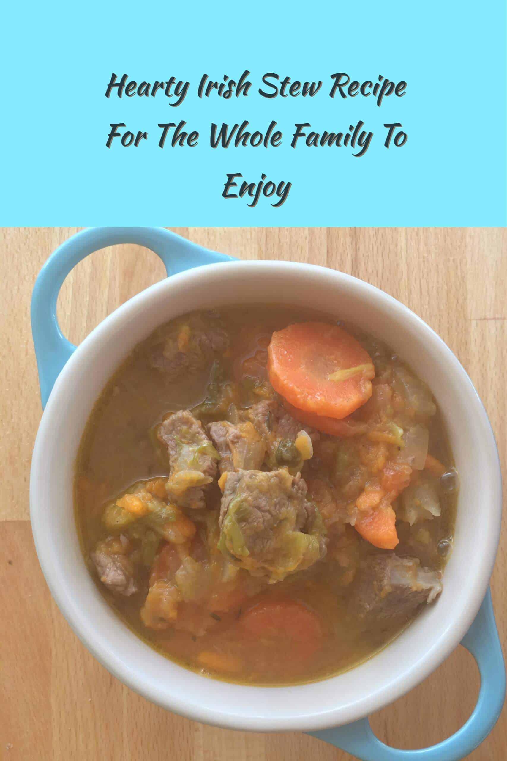 Hearty Irish Stew Recipe