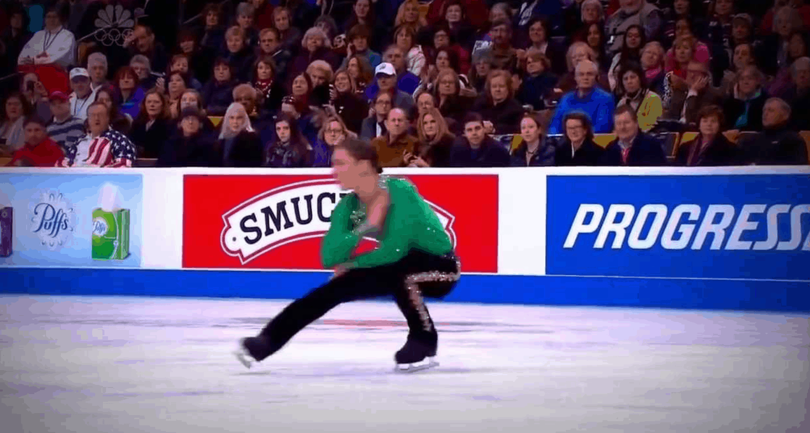 River dance on ice