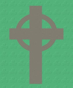 what does a celtic cross look like