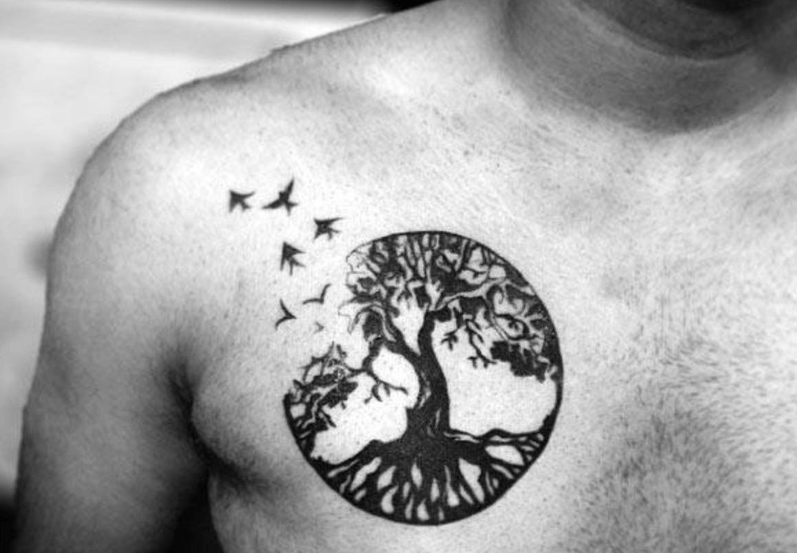Celtic tree of life example tattoo (1)