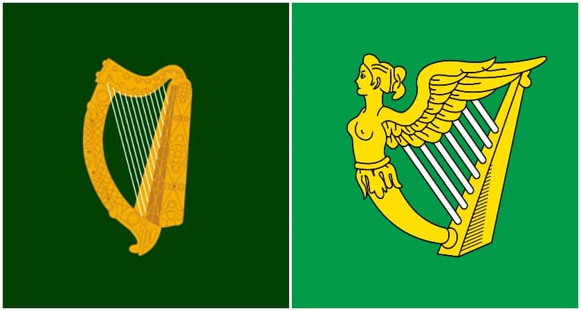 An older Irish flag