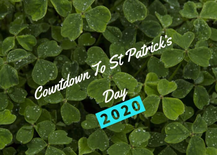 Countdown to St Patricks day 2020