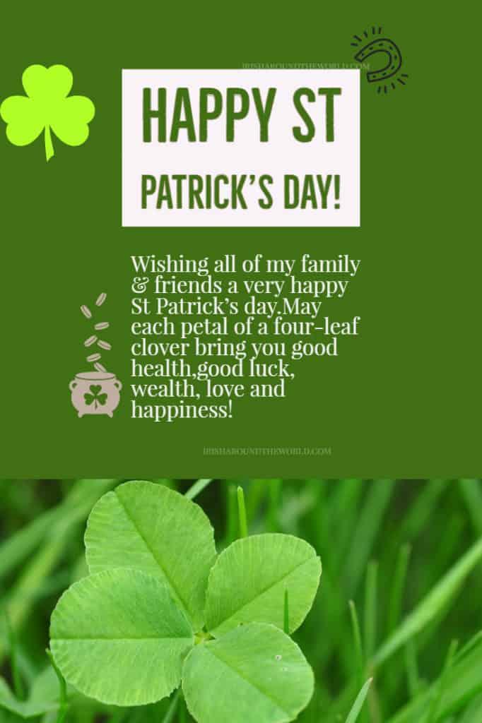 Happy St Patrick's Day 2019