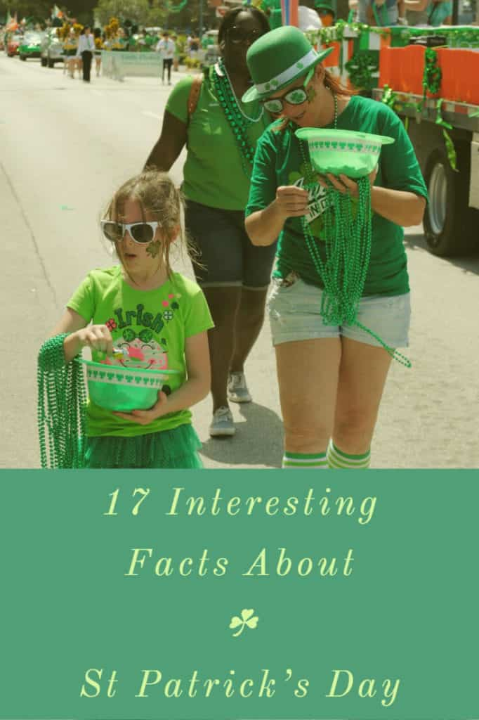 St Patrick's Day 17 Interesting Facts (1)