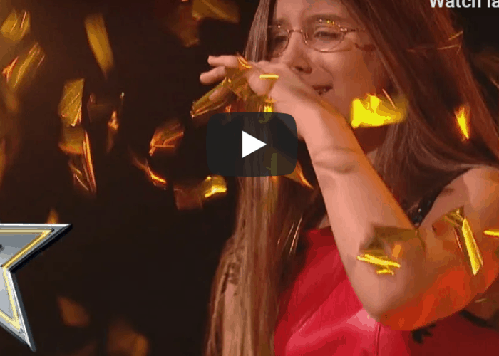 Golden buzzer 14 year old