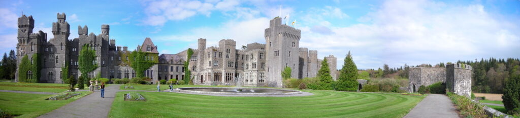 Ashford castle another one of many Irish castles you have to visit