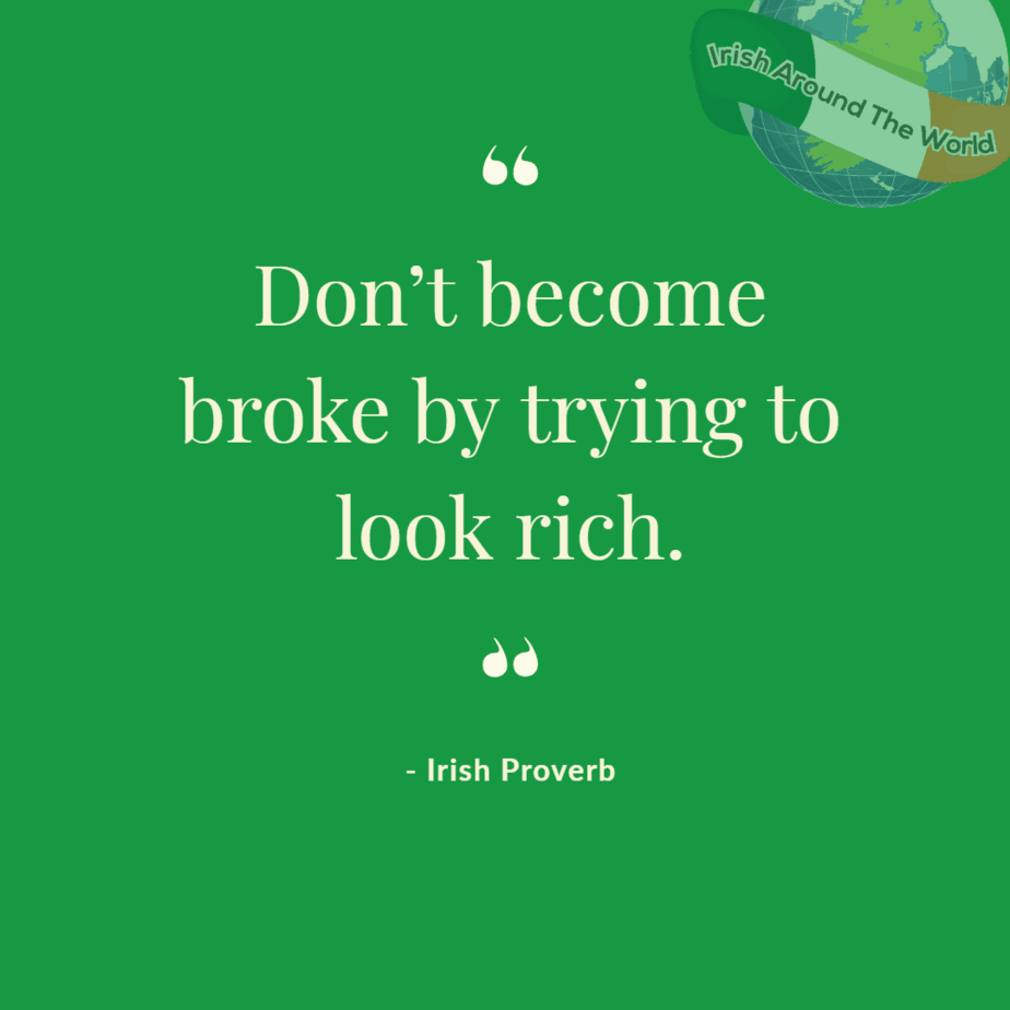 Don't become broke trying to look rich