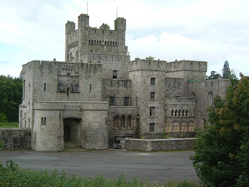 Gosford Castle entrance
