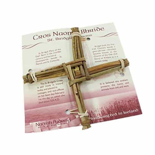 St Brigid's Cross Hand Crafted from dried out rushes and reed for a traditional version of the St. Brigids Cross.