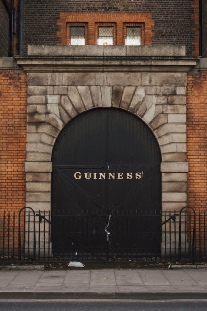 Surprisingly Ireland the home of Guinness does not sell the most Guinness in the world! Britain is first, Nigeria is second and Ireland is third!