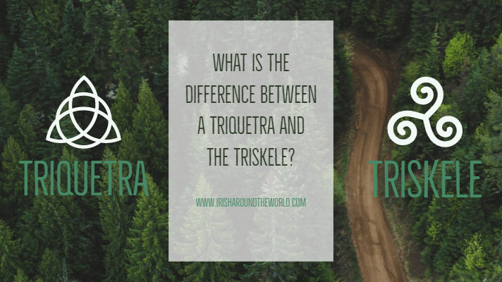 what us the difference between a triquetra and triskele