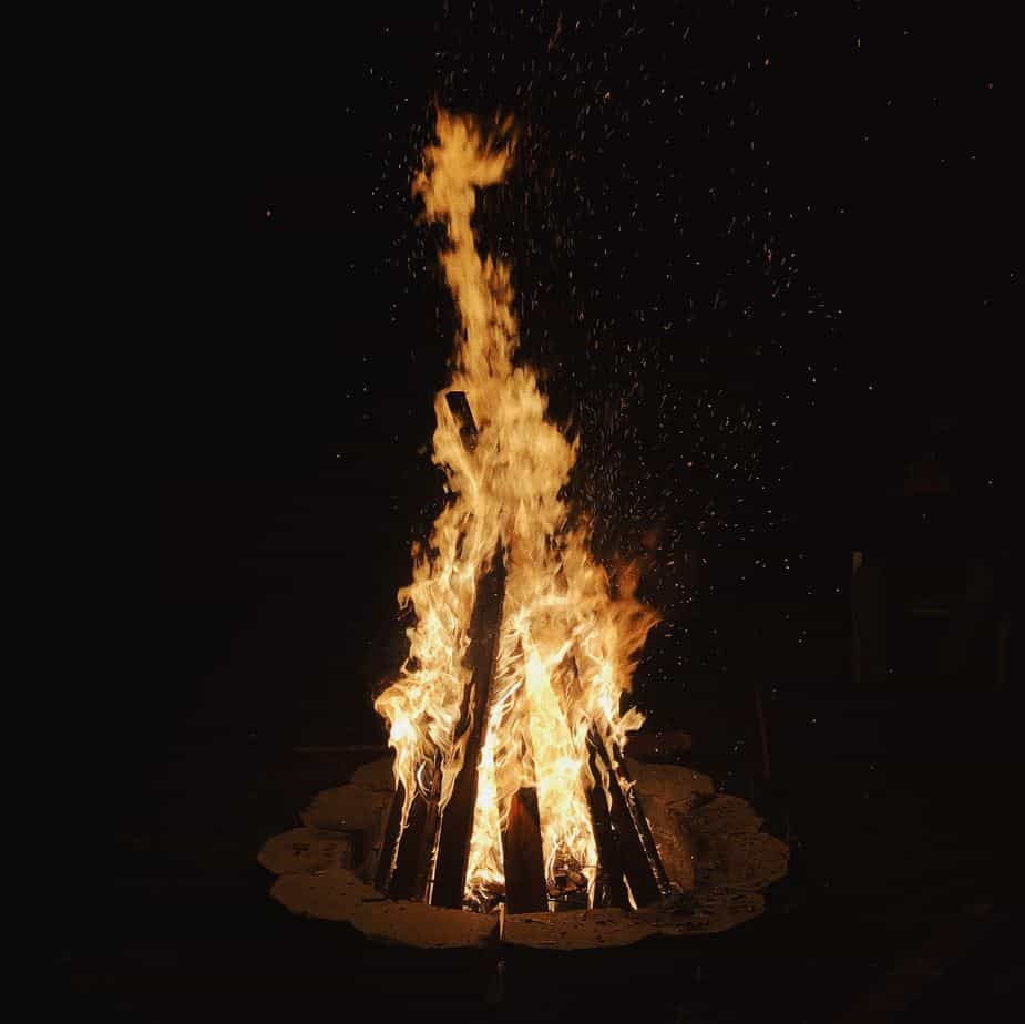 bonfire irish halloween facts