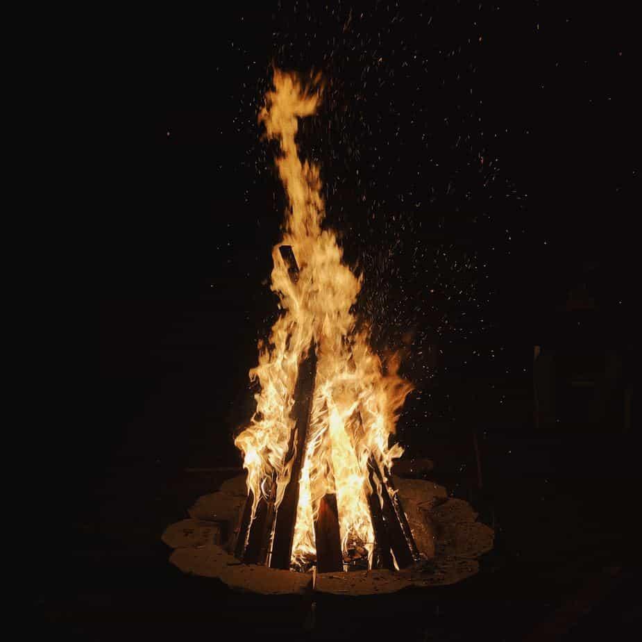 bonfire irish halloween facts