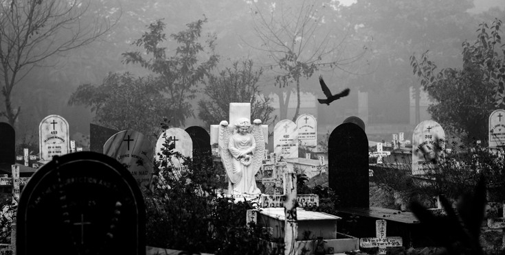 All saints day on Halloween