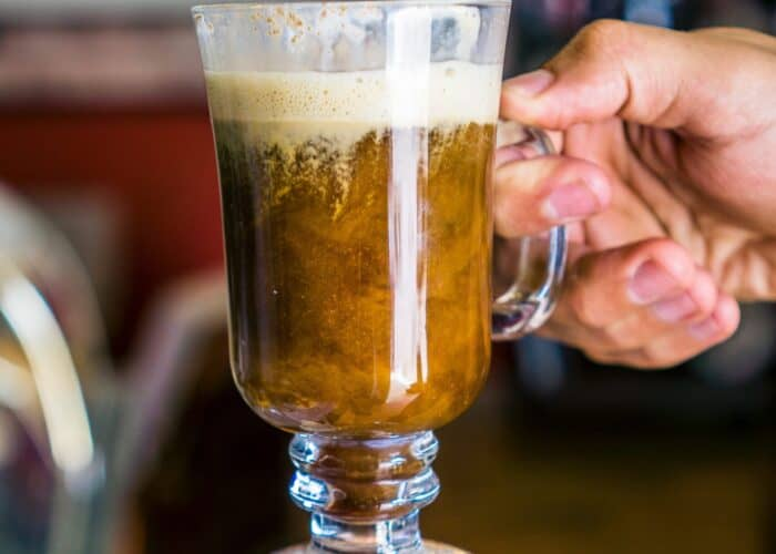 Spiced Irish coffee recipe