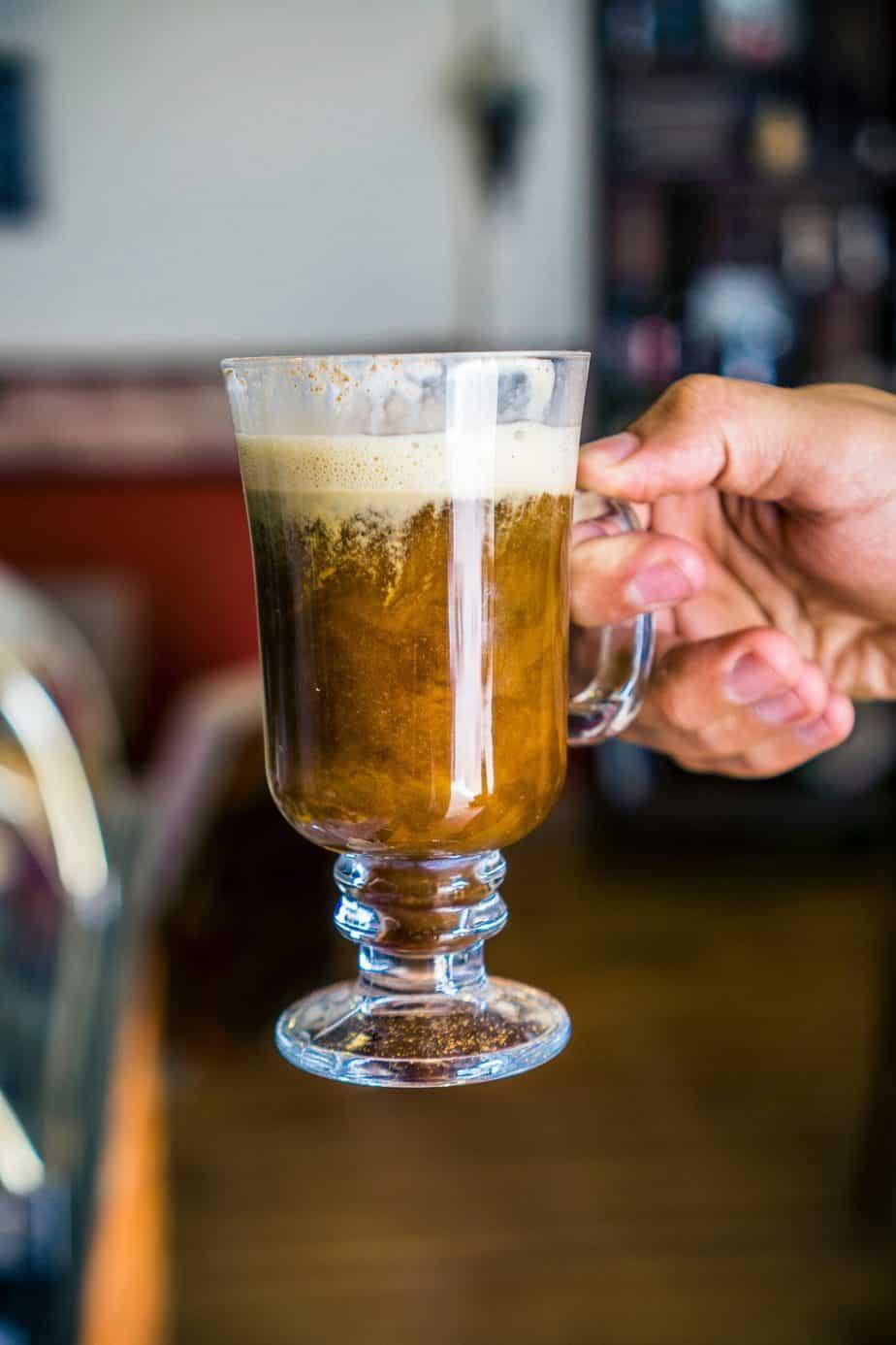 Spiced Irish coffee recipe