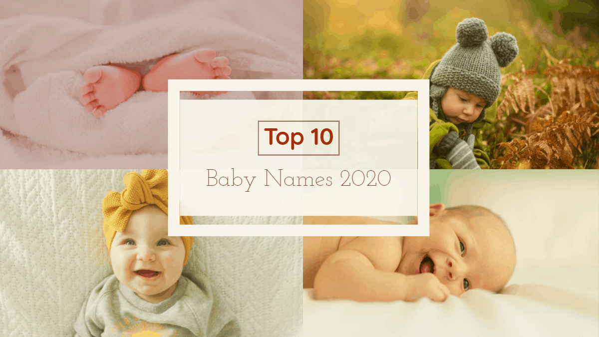 10 Baby Names For 2020
