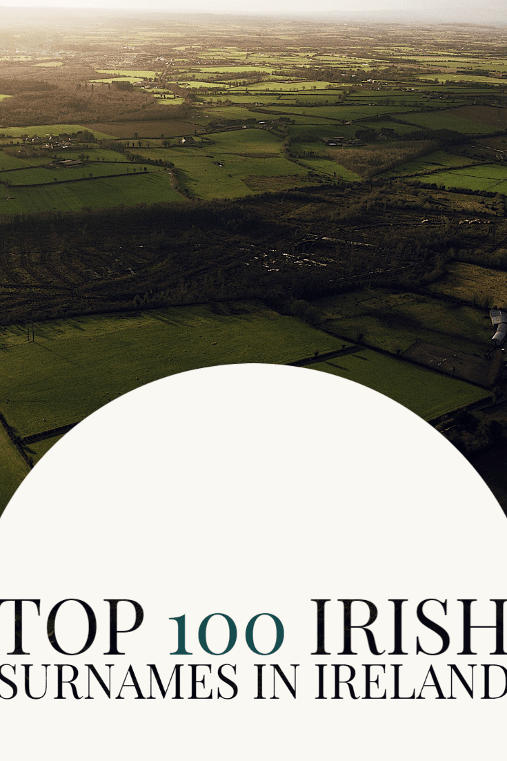 Irish Surname Maps Based on the 1901 and 1911 censuses of Ireland