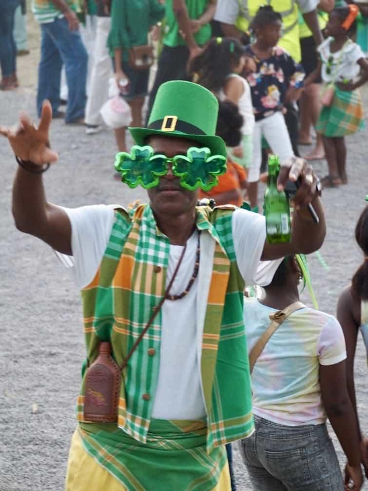 Montserrat St Patrick's day celebration