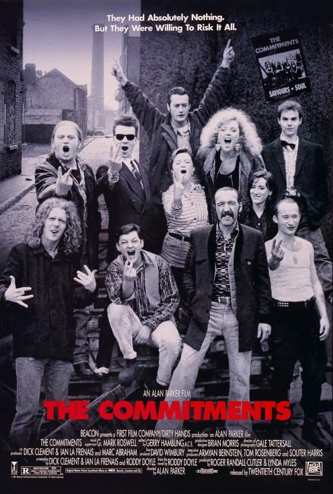 The Commitments Best irish movies of all time