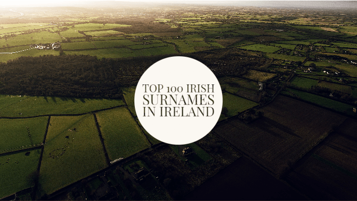 Top 100 Irish surnames in Ireland ranked
