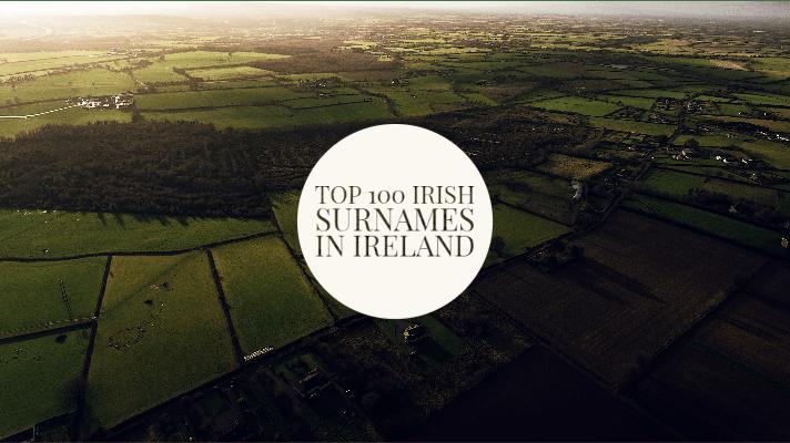 Top 100 Irish surnames in Ireland ranked
