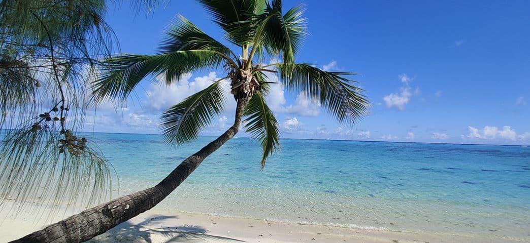 Aitutaki island