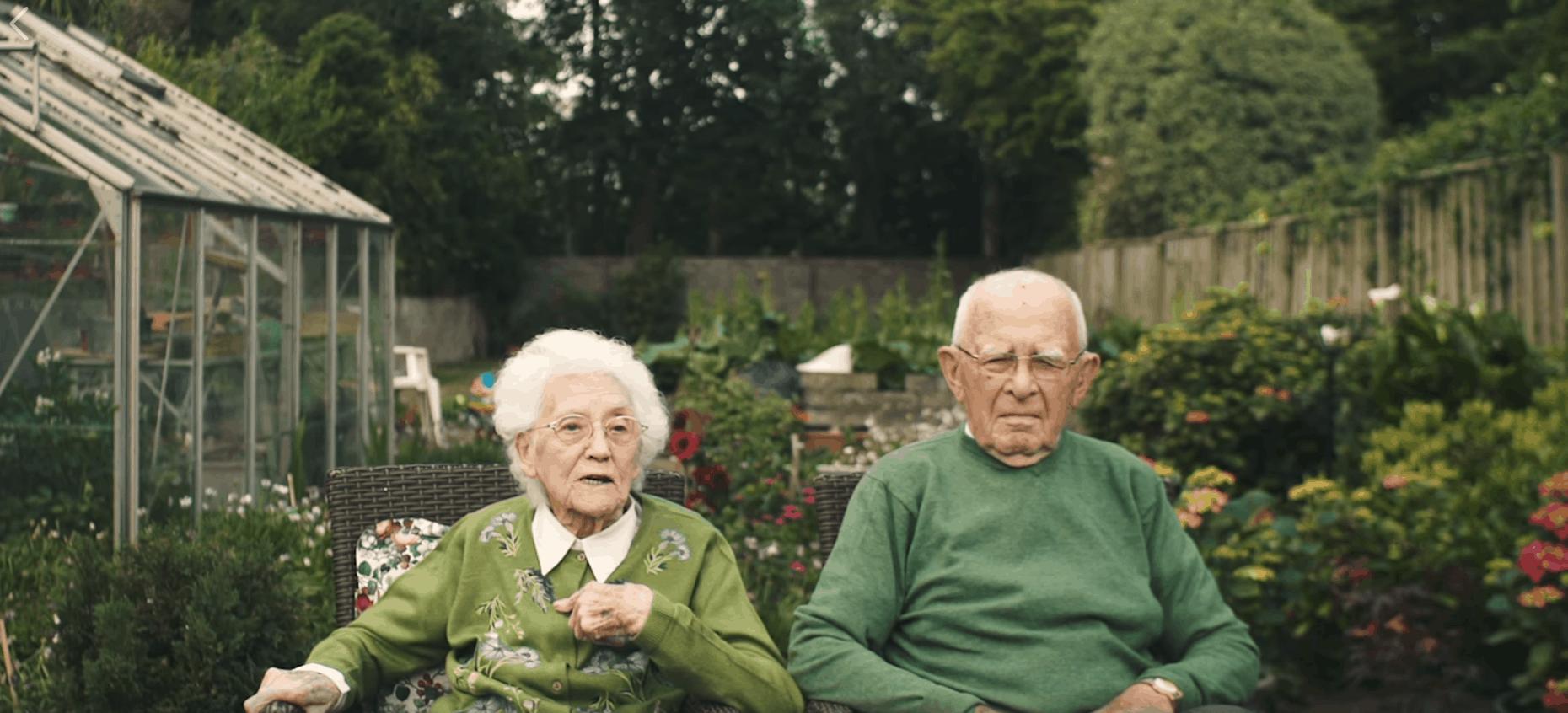Irish couple 101 and 95 years old