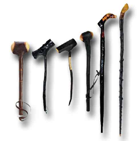 The Shillelagh what the different variations looked like