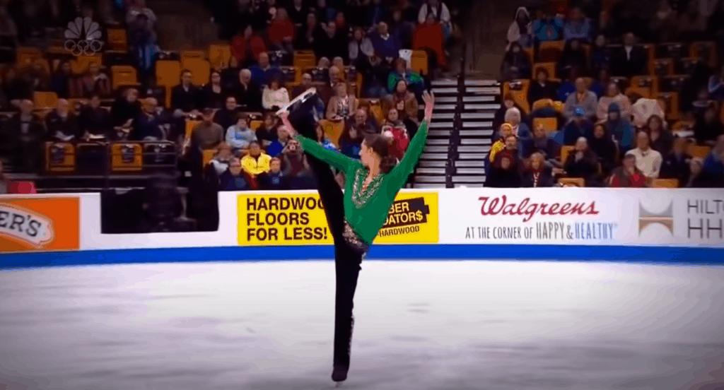 Olympic Skater 'Irish Dances' Across Ice, Brings Entire Stadium To Their Feet