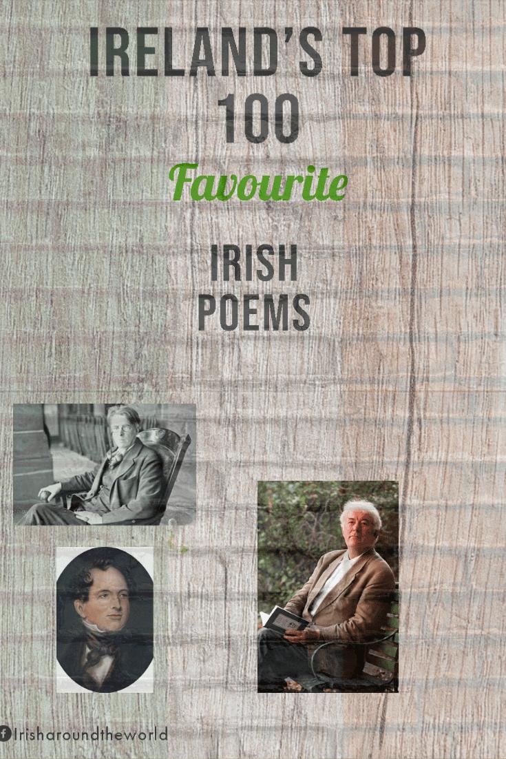 Irelands top 100 Irish poems