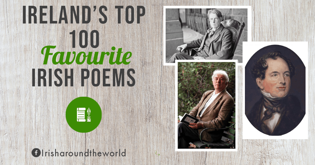 Irelands top 100 favourite Irish poems of all time
