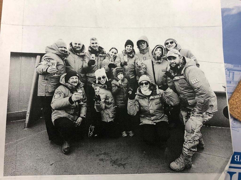 Photos of the crew from the Russian time capsule