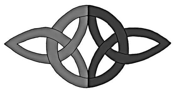 Celtic Symbol For Love The figure represents two people, joined in body, mind, and spirit in everlasting love.