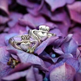 Celtic symbols claddagh ring