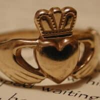 Claddagh ring celtic symbols