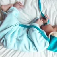 Baby blue top Irish poem