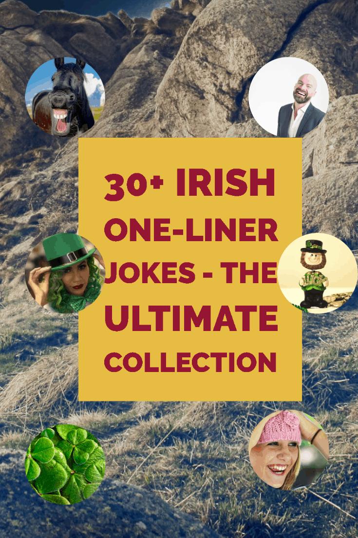Irish Jokes: 30+ Irish One-Liner Jokes - The Ultimate Collection Funny Jokes