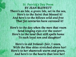 St patricks day poems
