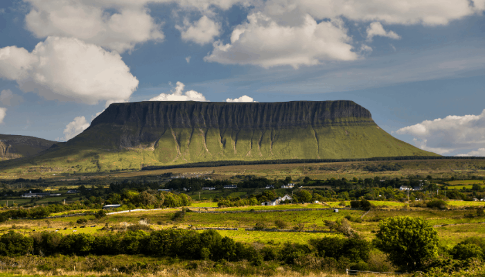 What Ben Bulben looks like