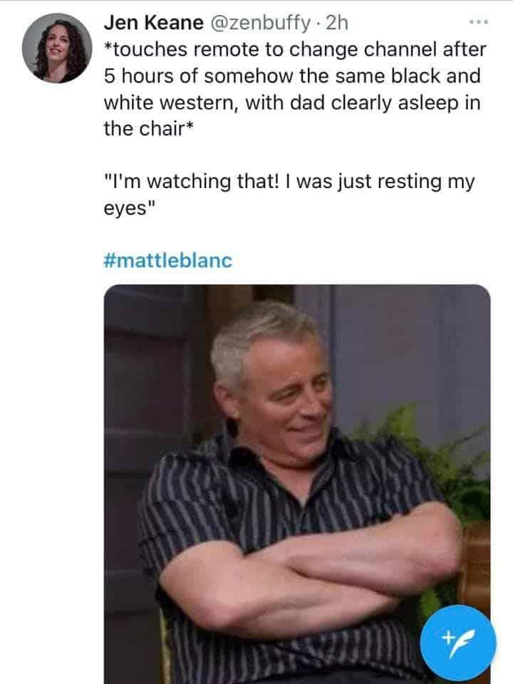 Every Irish dad Matt LeBlanc Memes