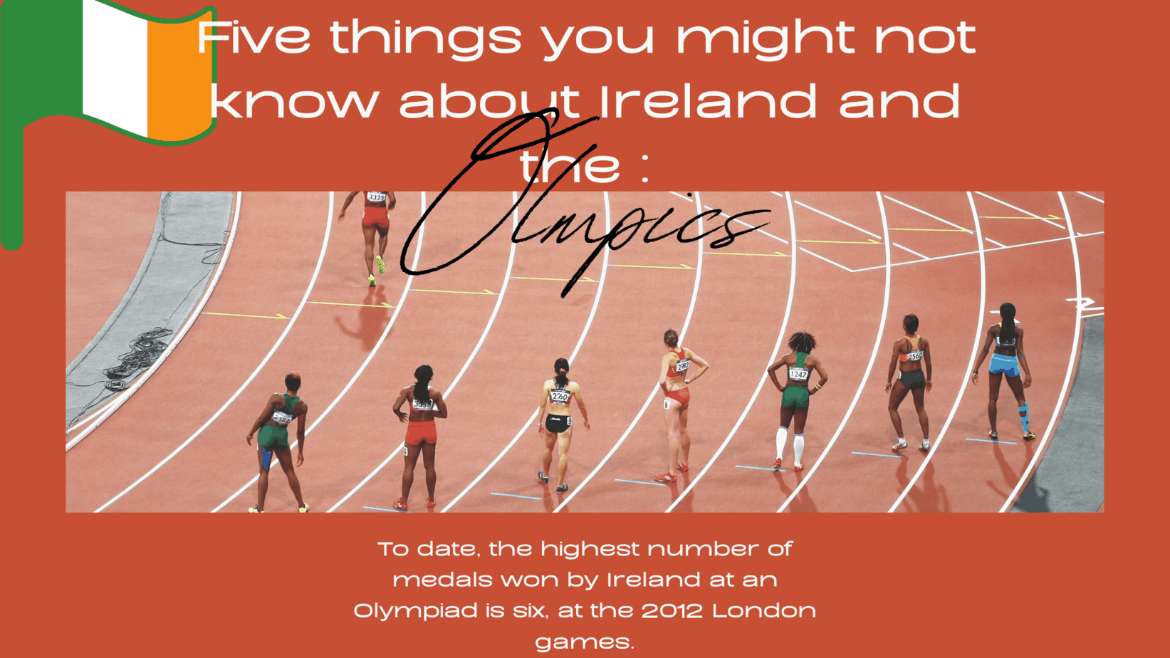 Five things you might not know about Ireland and the Olympics