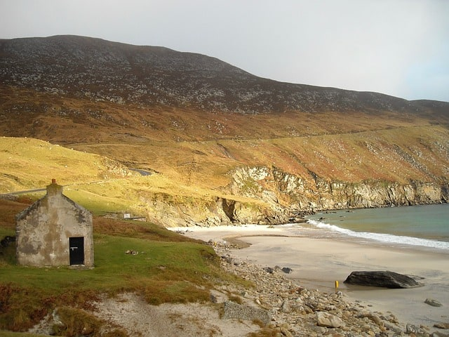 old Irish cottage top Irish poem