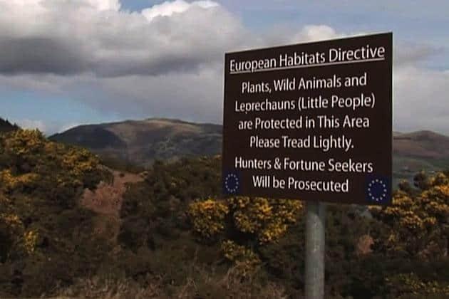 EU protected land for Leprechauns
